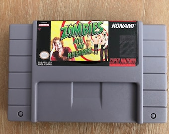 Oh No! Zombie Ate My Neighbors Super Nintendo SNES Game