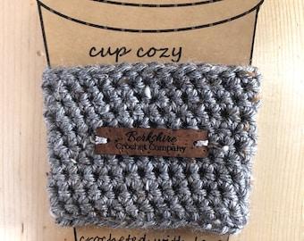Berkshire Crochet Company Logo Cup Cozy
