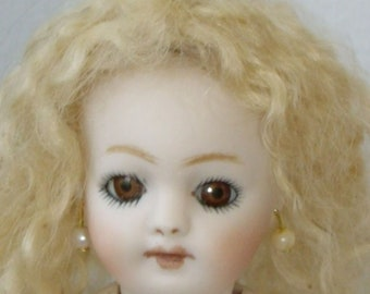 SWEET  GERMAN S&H  Reproduction all Bisque Doll