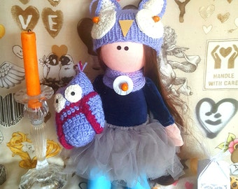 Doll with Owl