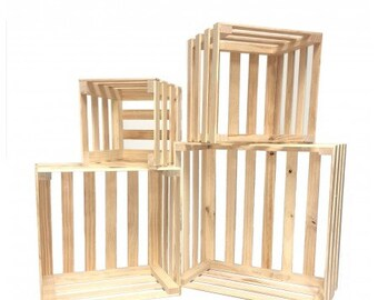Set of 4 Nesting Crates