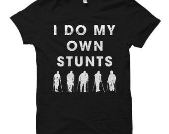 Parkour Shirt Freerunning Shirt Parkour Gift Freerunning Gift Stuntman Shirt Stuntman Gift Accident Gift Accident Shirt Broken leg Shirt