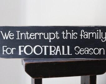 Man Cave Football Signs : Football signs etsy