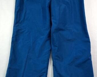 Vintage Deadstock 80s Columbia Powder Pants Marine Blue Women's Large NWT