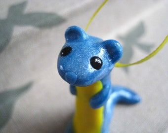 Weasel Ornament - Ready to Ship