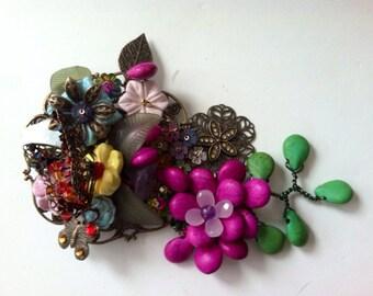 Maverick Jewels-Butterfly Garden Brooch