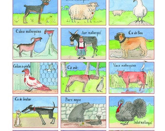 Balearic animal breeds