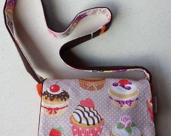 "Type ""Cupcakes"" satchel handbag"