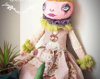 Handmade Vintage Style Art Doll