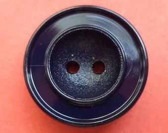 10 buttons dark blue 18mm (2426) button