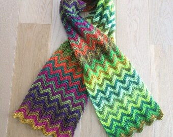 Two in One Zigzag Scarf