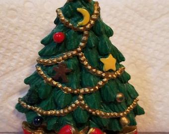 Christmas Pin, Christmas Tree Pin