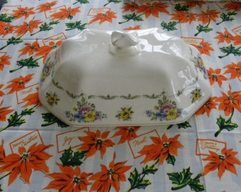 Vintage China Soup Tureen Lid|TS&T Paramount Ivory