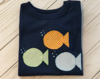 Bubble Fish Shirt or Onesie