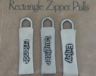 All My Memories - Zipper Pulls - Friends - Gun Metal