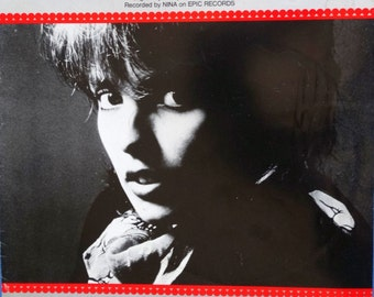 99 Luftballons Vintage Sheet Music Nena Photo Cover English German Lyrics 1983 Typos RARE