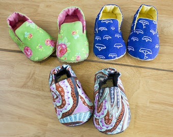 Mason Baby Shoes PDF Sewing Pattern (#711)