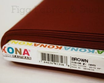 KONA Cotton in Brown (Color 1045)
