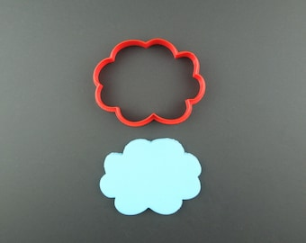 Cloud Cookie Cutter 3D Printed Weather Cookie and Fondant Cutter - Gift for Bakers