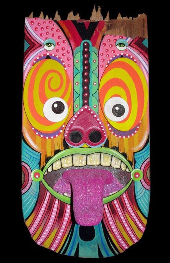 Sugar Tongue Buzz - Broken Skateboard