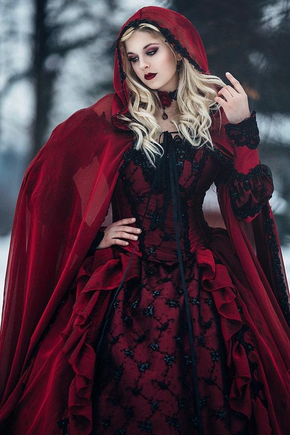 Red Wedding Dress for Girls