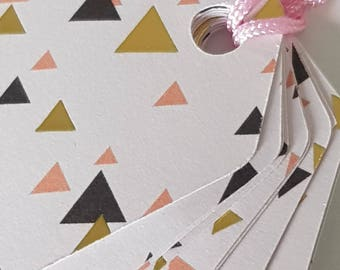 Baby set of 10 gift tags