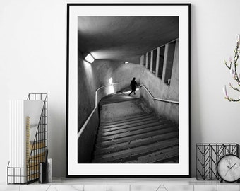 Black and White Print Photography, London Photography, Street Photography, London Print, Wall Art, Fine Art Photography, Poster, Home Decor