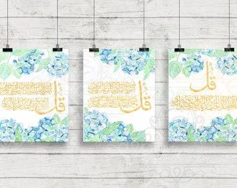 Three Piece Art Prints (three quls)
