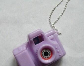 Violet ♥ ♥ camera pendant