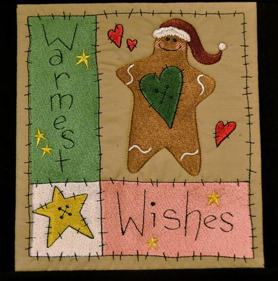 Gingerbread Man Quilt Gingerbread Wall Hanging Christmas : gingerbread man quilt - Adamdwight.com