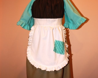 Cinderella Work Dress Rag Dress