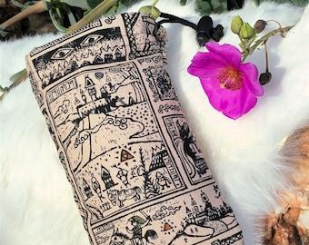 The Legend of Zelda Padded Pipe Bag!! Handmade in USA