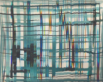 No title I (2016)-artwork print on Dibond