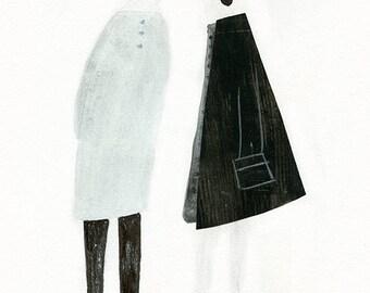 Two Ladies print