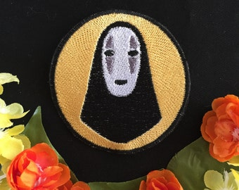 Spirited Away- No Face, Charm, Patch