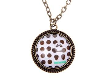 Panda Necklace, 2525C