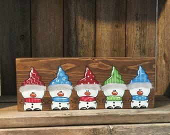 Snowman Sign, Snowman Decor, Christmas Decor, Christmas Sign, Winter Decor, Snowman, Holiday Decor, Christmas Snowman, Xmas Decor