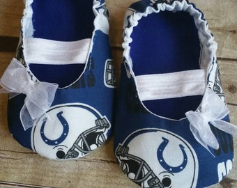 Indianapolis Colts Baby Maryjane Booties