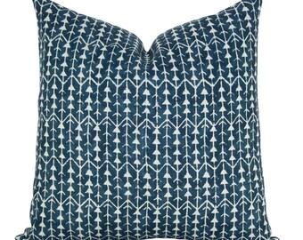 Amazon pillow cover in Indigo