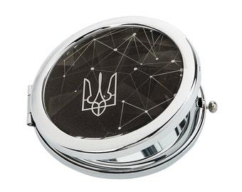 Ukraine Pocket Mirror // purse mirror - compact mirror - bridesmaid gift