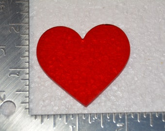 Red Heart Mosaic Pieces