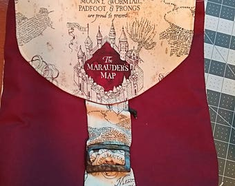 Harry Potter Inspired Marauders Map Backpack