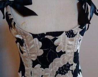 Brocade fashion corset
