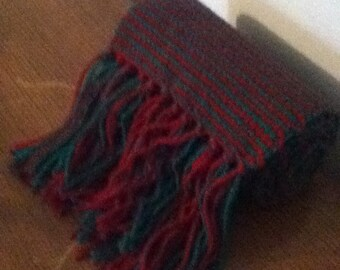 Two-Striped Reversible Scarf