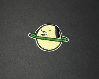 Planet Pluto Iron on patch diy appliqué patch flair space universe planet adventure imagination