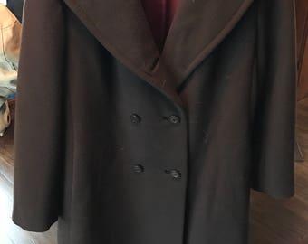 Vintage Del-Shire Wool Coat