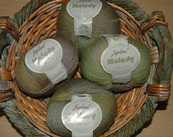 Jojoland Melody Superwash Wool Color No Y07 Crochet Knit