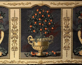 Fruit and Tree Triptych Tapestry