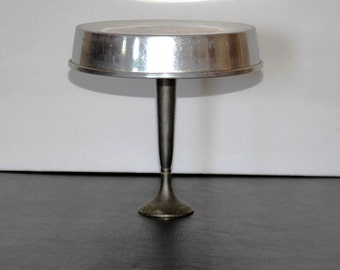 Cake Stand, Metal Cake Stand, Cupcake Stand, Jewelry Stand, Recycled Cake Stand, Shabby chic, Upcycled, Dessert Holder, Serving Stand
