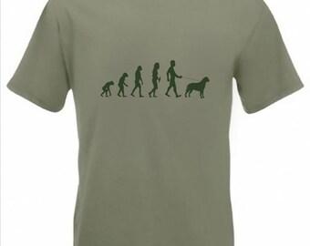 Evolution to Bullmastiff t-shirt Funny Dog T-shirt sizes S TO 2XXL